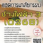 สรุปแนวข้อสอบ ช่างไฟฟ้า3(0268) องค์การเภสัชกรรม พร้อมเฉลย