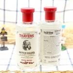 Thayers, Witch Hazel Aloe Vera Formula, Alcohol-Free Toner, Rose Petal, 12 fl oz (355 ml) Witch Hazel มีคุณสมบัติช่วยกระชับรูขุมขน ทำให้ผิวเรียบเนียน โดยไม่ทำให้ผิวแห้ง เป็นเคล็ดลับความงามของ Rose Thayer ที่ถูกคิดค้นพัฒนาเมื่อ 120 ปีที่แล้ว เพื่อดูแลผิวให