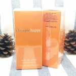 Clinique happy perfume spray 30ml. น้ำหอมกลิ่นสดชื่นจากพืชตระกูลส้ม ช่วยเติมความสดใส สนุกสนาน ร่าเริง สามารถใช้ได้ทั้งชายและหญิง ถือเป็นกลิ่นยอดนิยมที่มียอดขายสูงสุดตลอดกาล หอมสดใส หวานซ่อนเปรี้ยว ยิ่งปล่อยไว้นาน กลิ่นหอม เหมาะสำหรับทุกคน ทุกอารมณ์ ผสมผสา