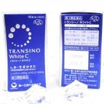 TRANSINO White C 90 เม็ด อาหารเสริมบำรุงผิวกระจ่างสดใส ขาวเพิ่มประสิทธิภาพมากขึ้นผลิตภัณฑ์ยอดฮิตจากประเทศญี่ปุ่น อาหารเสริมเพื่อผิวขาว เนียน ใส ช่วยลดการทำงานของเม็ดสีเมลานิน ซึ่งเป็นการหยุดปัญหาผิวผมองคล้ำ ลดรอยคล้ำจากแสงแดด รอยกระ ฝ้าและช่วยป้องกัน ซ่อม