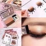 16 Brand Eye Magazine Eyeshadow รุ่นใหม่ล่าสุด ขายดีมากในเกาหลี!! แต่งตาง่าย บรรจุในกล่องรูปแบบหนังสือ ใช้งานง่าย แค่ปาด 2 ที ไม่ต้องเสียเวลาเบลนด์ สีสวยสไตล์เกาหลี พกพาง่าย ใช้ได้กับทุกวัน แค่แตะแล้วปาดดด ออกจากบ้านได้เลยยยย เหมาะกับสาวๆ ที่เพิ่งหัดแต่ง
