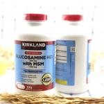 KIRKLAND GLUCOSAMINE บำรุงกระดูก ไขข้อ ข้อต่อ Kirkland Glucosamine 1500mg + MSM 1500mg ขวดใหญ่ 375 เม็ด ทานวันละ 2 เม็ด (ราว 190 วัน) บรรเทาปัญหาไขข้อเสื่อม ..เพิ่มความแข็งแรงไขข้อ สำหรับผู้ทื่ขาดการออกกำลังกาย และ นักกีฬา MADE IN USA