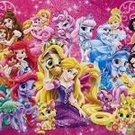 Disney Princess & Pet ของแท้ JP - Jigsaw Disney [จิ๊กซอว์ Disney]