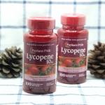 Puritan's Pride - Lycopene 10 mg 100 Softgels ผิวขาวใส นุ่ม อมชมพู ปกป้องผิวจากแสงแดด ไลโคปีน สารสกัดจากมะเขือเทศเข้มข้น ไลโคปีน เป็นเม็ดสีคาโรตินอยด์สีแดงสด