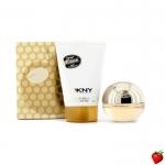Women's Golden Delicious Fragrance Gift Set by DKNY - 2 pcs. น้ำหอม DKNY Golden Delicious Gift Set EDP 50ml ของใหม่พร้อมกล่อง ใน 1 กล่องประกอบด้วย 2 อย่าง -น้ำหอม DKNY Golden Delicious EDP 30ml ราคา 2,700 บาท -โลชั่น Body Lotion DKNY Golden Delicious