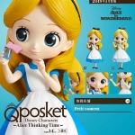 Alice Thinking Time ของแท้ JP - Q Posket Disney - Normal Color [โมเดล Disney]