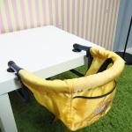 sky chair มือสอง (เก้าอี้ทานข้าวเด็กแบบพกพา)