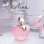 """Nueva fragancia de Nina Ricci """"Nina L'Eau"""" Nina L'Eau Eau Fraiche น้ำหอมกลิ่นฟลอร่าฟรุ๊ตตี้สำหรับสาวโมเดิล สดชื่น สนุกสนาน โรแมนติก เย้ายวน"""
