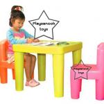 โต๊ะเก้าอี้พลาสติก