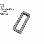 "Square Ring 1.5"" PP"