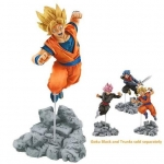 Goku ของแท้ JP แมวทอง - Soul X Soul Banpresto [โมเดลดราก้อนบอล]