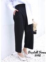 กางเกงแฟชั่น สีดำ