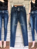 กางเกงยีนส์เอวสูงแฟชั่น No.JH1052