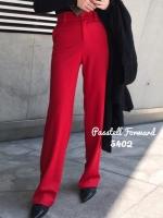 กางเกงแฟชั่น แดง