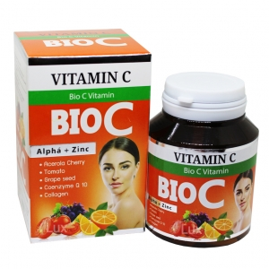 ไบโอ ซี วิตามิน BIO C Vitamin Alpha + Zinc ราคาปลีก ส่ง