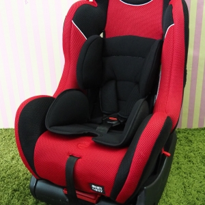 Mum's carry สีแดง ดำ พร้อมซัพพอร์ต สภาพสวย < ใช้ได้ตั้งแต่แรกเกิด - 7 ขวบ >