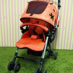รถเข็นเด็กมือสอง Aprica รุ่น Pirate สีส้ม