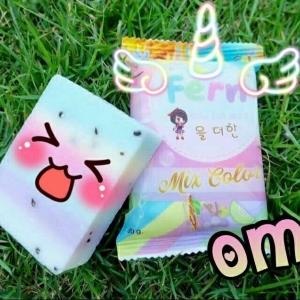 OMO PLUS Soap Mix Color สบู่โอโม่พลัส สบู่ 5 สี