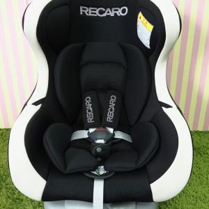 คาร์ซีทมือสอง Recaro รุ่น Start I+ สีดำ พร้อมซัพพอร์ต