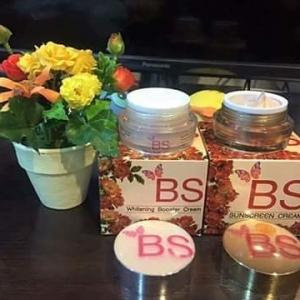ครีม BS Skincare ผลิตภัณฑ์บำรุงผิวหน้า/ช่วยลดจุดด่างดำช่วยทำให้ผิวหน้าขาว กระจ่างใส