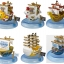 One Piece Mini Ship Set ของแท้ JP แมวทอง - Banpresto [โมเดลวันพีช] (6 ลำ) thumbnail 9