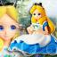 Alice in Wonderland ของแท้ JP - Crystalux Disney [โมเดล Disney] thumbnail 1