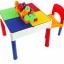 โต๊ะต่อเลโก้ 2in1 Construction Table Set + 1 เก้าอี้ + เลโก้ 30 ตัว ส่งฟรีพัสดุไปรษณีย์ thumbnail 1