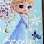 Elsa ของแท้ JP - Q Posket Disney - Pastel Color [โมเดล Disney] thumbnail 11