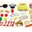 ชุดโต๊ะครัวช็อปปิ้งชุดใหญ่ king kitchen สีชมพู ส่งฟรี thumbnail 2