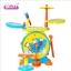 กลองเด็ก Baoli 2 in 1 multifunction ****พร้อมส่งสีฟ้า และ ชมพู****ส่งฟรี thumbnail 1