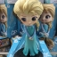Elsa ของแท้ JP - Q Posket Disney - Normal Color [โมเดล Disney] thumbnail 4