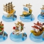 One Piece Mini Ship Set ของแท้ JP แมวทอง - Banpresto [โมเดลวันพีช] (6 ลำ) thumbnail 1