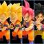 Goku Super Saiyan Set ของแท้ JP แมวทอง - WCF Banpresto [โมเดลดราก้อนบอล] (Rare) 6 ตัว thumbnail 6