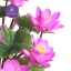 แจกันดอกบัวประดิษฐ์แฮนดิท็อพ เพื่อบูชาพระ ถวายวัด หรือเป็นของขวัญขึ้นบ้านใหม่ ดอกบัวหลวงขนาดใหญ่ 12 ดอก thumbnail 5