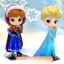 Elsa ของแท้ JP - Q Posket Disney - Normal Color [โมเดล Disney] thumbnail 10