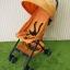 รถเข็นเด็กมือสอง Aprica Stick สีส้ม