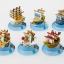 One Piece Mini Ship Set ของแท้ JP แมวทอง - Banpresto [โมเดลวันพีช] (6 ลำ) thumbnail 8