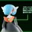Black Mega Gardevoir ของแท้ JP - Takara Tomy Moncolle EX [โมเดลโปเกมอน] thumbnail 3