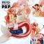 Shirahoshi ของแท้ JP แมวทอง - Megahouse POP Saling Again [โมเดลวันพีช] thumbnail 19