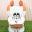 คาร์ซีทมือสอง Aprica Marshmallow พร้อมซัพพอร์ต
