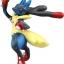 Mega Lucario ของแท้ JP - Takara Tomy Moncolle EX [โมเดลโปเกมอน] (เมก้าลูคาริโอ้) thumbnail 1