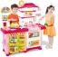 ชุดโต๊ะครัวช็อปปิ้งชุดใหญ่ king kitchen สีชมพู ส่งฟรี thumbnail 1
