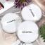 Chanel Loose Powder Puff พัฟสีขาว สำหรับแป้งฝุ่น ทำจากกำมะหยี่ นุ่ม แน่น ไม่กินแป้ง ให้ลุค นวลเนียน (สินค้า ขนาดปกติ เส้นประมาณ 6.5 cm.)