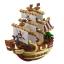 One Piece Mini Ship Set ของแท้ JP แมวทอง - Banpresto [โมเดลวันพีช] (6 ลำ) thumbnail 2
