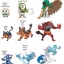 Ashimari Evolution Set ของแท้ JP - Takara Tomy Moncolle EX [โมเดลโปเกมอน] (3 ตัว) thumbnail 5