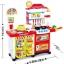 ชุดโต๊ะครัวช็อปปิ้งชุดใหญ่ king kitchen สีชมพู ส่งฟรี thumbnail 3
