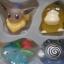 Pokemon Kids Set สวมนิ้ว ของแท้ JP - Bandai [โมเดลโปเกมอน] (11 ตัว) thumbnail 8