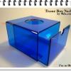 กล่องทิชชู่ ป๊อปอัพ อะครีลิค สีน้ำเงิน (สินค้าสั่งผลิต) 10 ชิ้นขึ้นไป 7-10 วัน