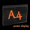 A4 ป้ายโปสเตอร์ติดผนัง แนวนอน (30x21cm)