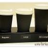 แท่นโชว์แก้วกาแฟ 3 แก้ว สำหรับร้านกาแฟ เค้าเตอร์ร้านขายน้ำ จำนวน 20 ชิ้น